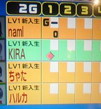 ラウンド1 画面